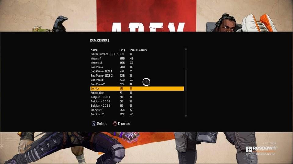 Jak zmniejszyć lagi w Apex Legends, manualnie wybierając serwer!