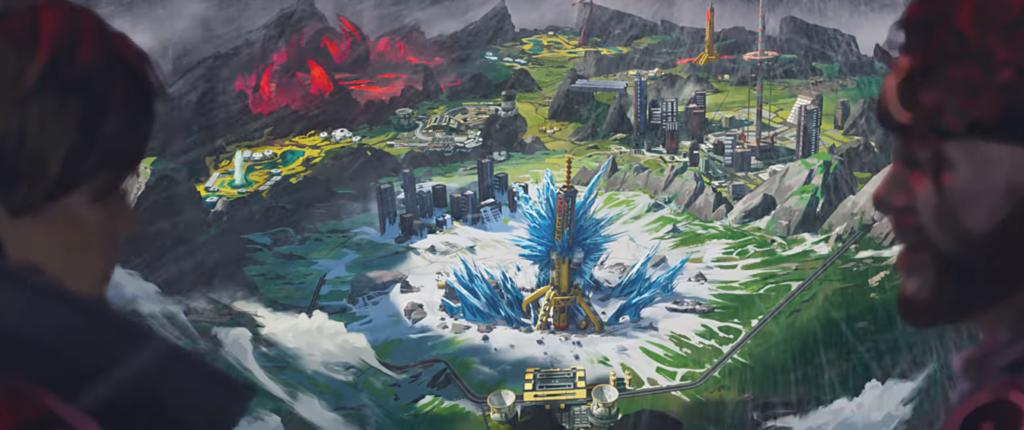 Nowa mapa w Apex Legends z wulkanem i śnieżnym biomem!