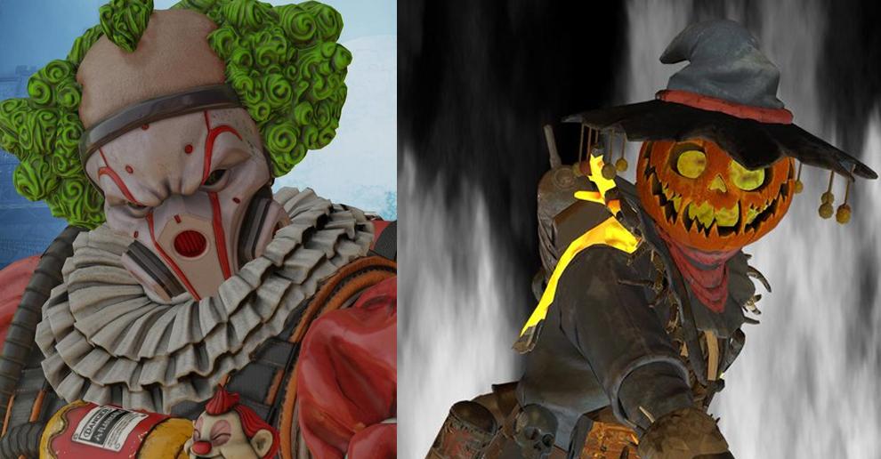 W Apex Legends pojawi się klaun. Wyciekły skiny na Halloweenowe wydarzenie Fight or Fright