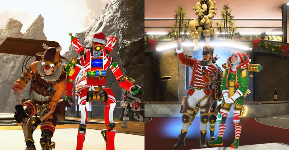 Magia holo-świąt Mirage'a już w Apex Legends. Nowe skórki, nowy tryb i więcej